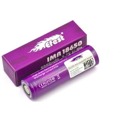 Μπαταρία Efest IMR 18650 battery 35A